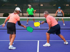 Pickleball, seniors pickleball, pickleball in florida, 55+ community, active adult community